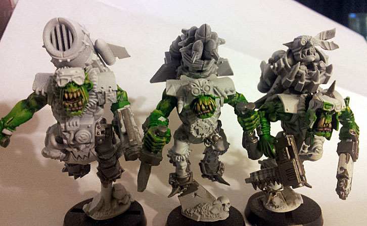 Painting Ork Skin Eye Of Madness